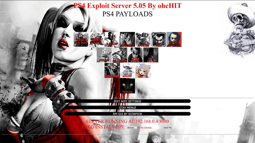 PS4 Exploit Server for 5.05 Firmware by OhcHIT.png