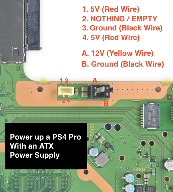 PlayStation 4 Pro Power Supply Pinout help | PSXHAX - PSXHACKS