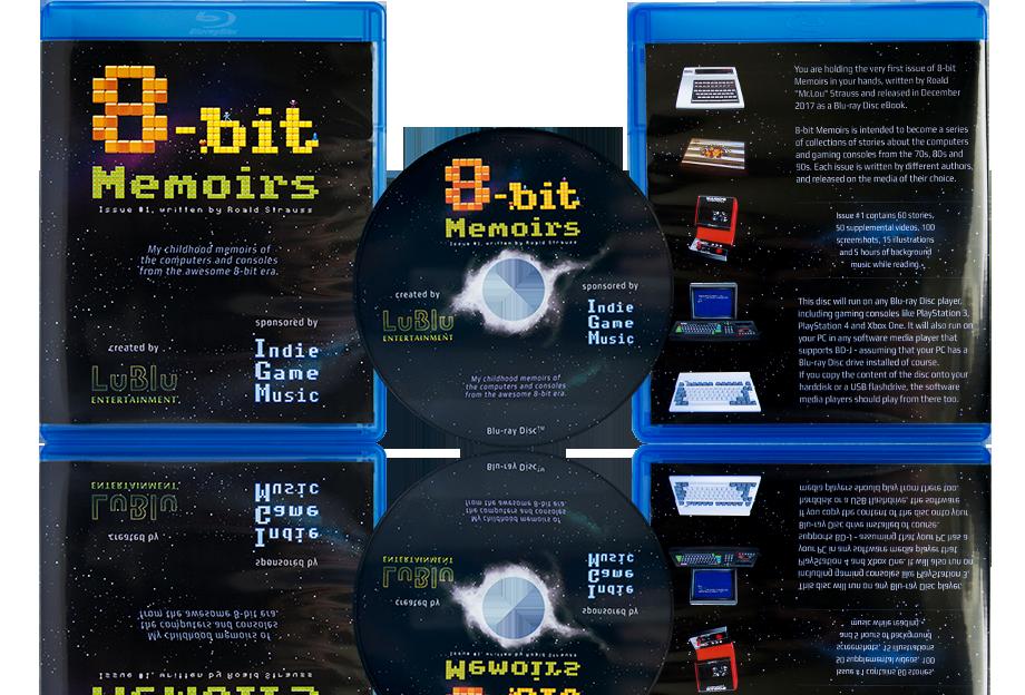 8-bit Memoirs eBook Issue #1 by Misthalu is Released!.png