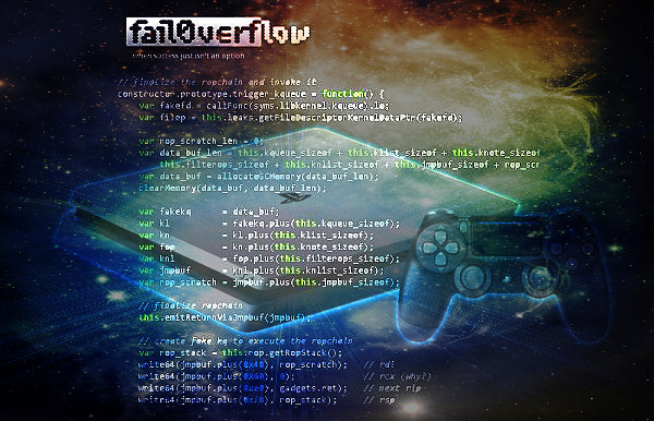 Adieu PS4 Kernel Exploit for Firmware 4.05 by Fail0verflow Team!.jpg