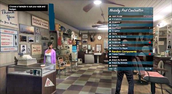 ArabicGuy Updated PS4 4 55 GTA V Mod Menu by RF0oDxM0Dz