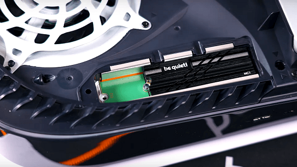 Be Quiet! MC1 M.2 SSD Cooler Compatible with PS5 Solid State Drive Slot.png