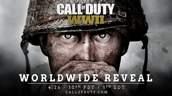 Call of Duty WWII Reveal April 26th, PS4 Box Art & DLC Details - CODWWII.jpg