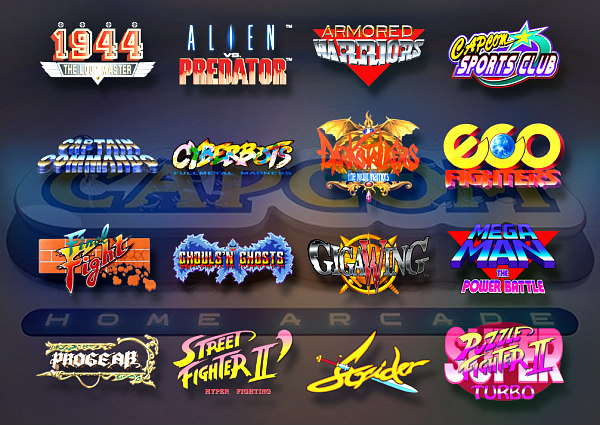 Capcom Home Arcade Launches October 25th, Details and Trailer Video.jpg
