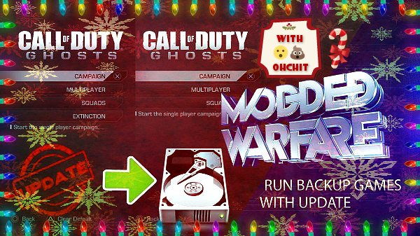 CoD Ghosts by Modded Warfare & OhcHIT with PS4 AIO v1.3.0 Update.jpg