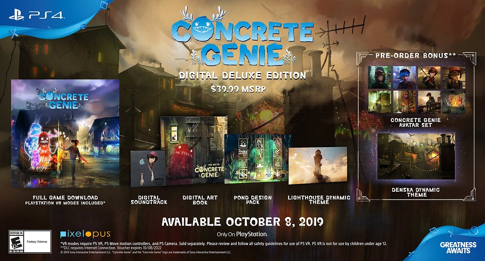 Concrete Genie Appears on PlayStation 4 October 8th, PS4 Launch Trailer 2.jpg