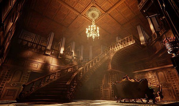 Dimitrescu Castle from Resident Evil Village Recreated in Dreams on PS4 PS5.jpg