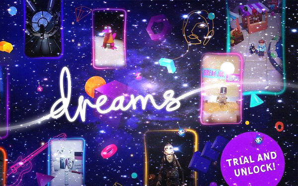 Dreams Demo Live on PlayStation Store, PS4 Trial and Unlock Trailer.jpg