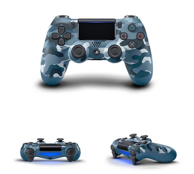 DualShock 4 Berry Blue, Sunset Orange, Blue Camo & Copper Incoming 3.jpg