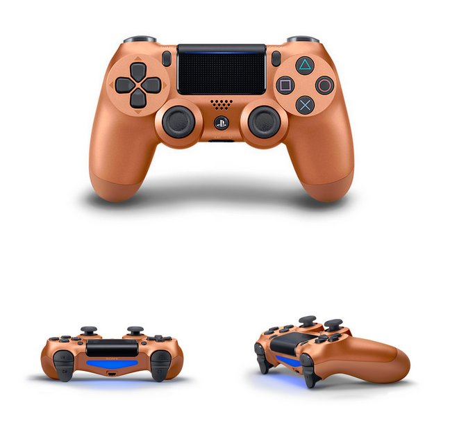 DualShock 4 Berry Blue, Sunset Orange, Blue Camo & Copper Incoming 4.jpg