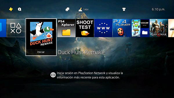 Duck Hunt Remake 35th Anniversary Homebrew PS4 PKG by Lapy05575948.jpg