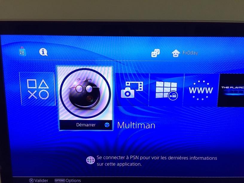 PS4 Custom Home Menu Mod PoC by Senaxx   PSXHAX - PSXHACKS