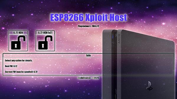 ESP8266 Xploit Host 2.84 for PS4 6.72 Jailbroken Consoles by C0d3m4st4.jpg