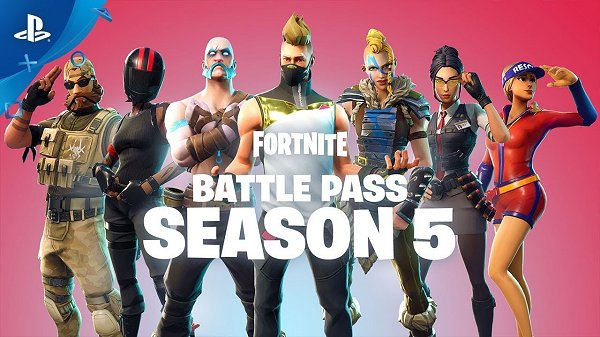 Fortnite Season 5 PS4 Announce and Battle Pass Launch Trailer.jpg