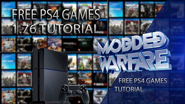 How to Get Free Games on a 1.76 PS4 Video Guide by Modded Warfare.jpg