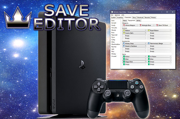 Kingdom Hearts Save Editor Adds KH2 PS4 Save Support by Xeeynamo.jpg