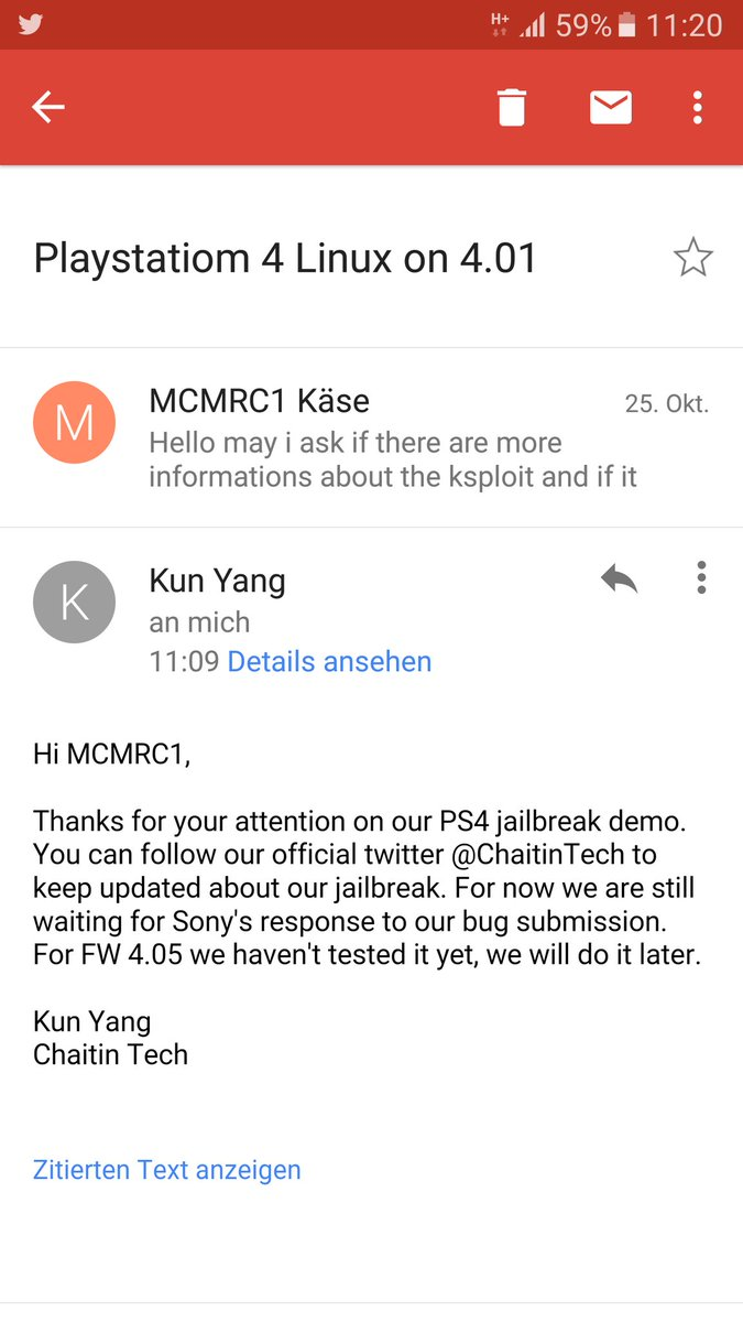 Kun Yang of Chaitin Tech on PS4 4.01 Jailbreak.jpg