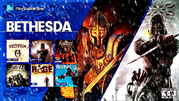 Latest PlayStation Now Lineup Includes Oblivion and Dishonored.jpg