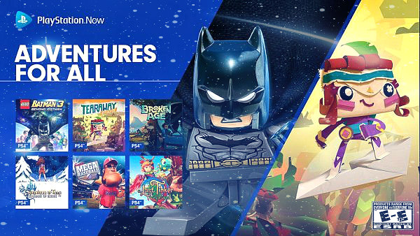 LEGO Batman 3, Tearaway Unfolded, More PS4 Games Added to PS Now.jpg