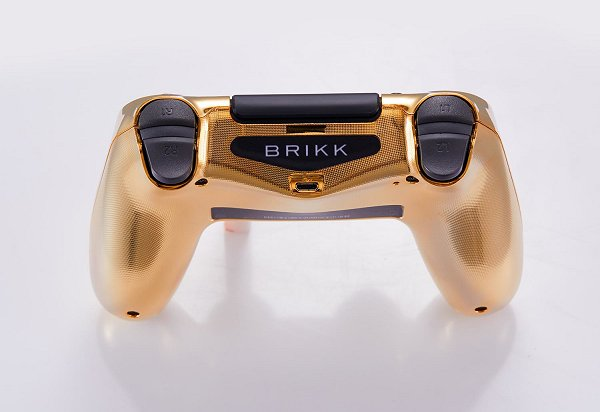 Lux DualShock 4 (DS4) Controller for PS4 in 24K Gold and Diamonds 6.jpg