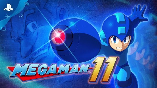 Mega Man 11 PlayStation 4 Trailer, Capcom Confirms 2018 PS4 Release.jpg