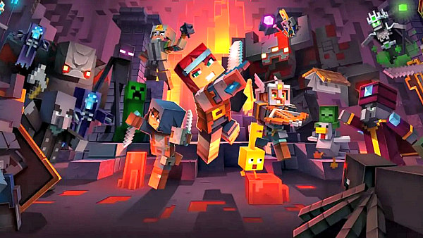 Minecraft Dungeons Battles Onto New PS4 Game Releases Next Week.jpg