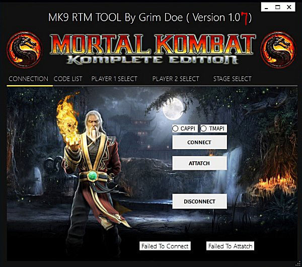 Mortal Kombat 9 Real-Time Mod (RTM) Tool v1.07 for PS3 CFW by GrimDoe.jpg