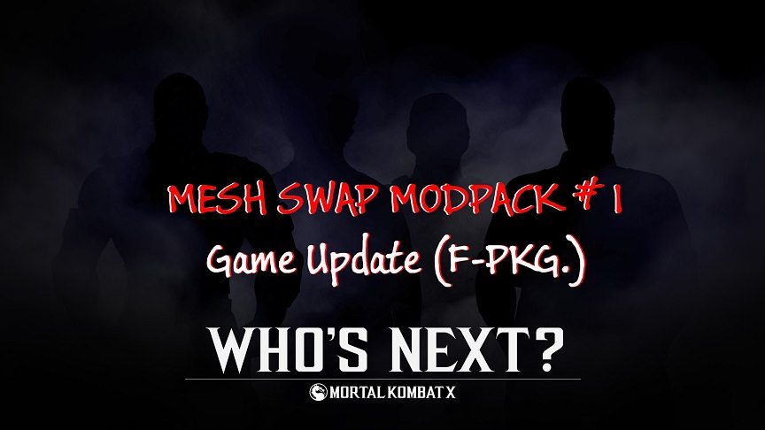 Mortal Kombat XL (Mesh Swap Modpack 1) PS4 FPKG Game Update 2.jpg