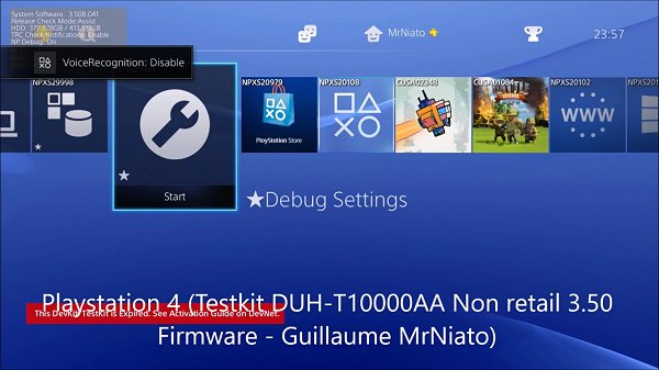 MrNiato PS4 TestKit & PS3 UltraSlim Debug Menu Setting Comparison.jpg