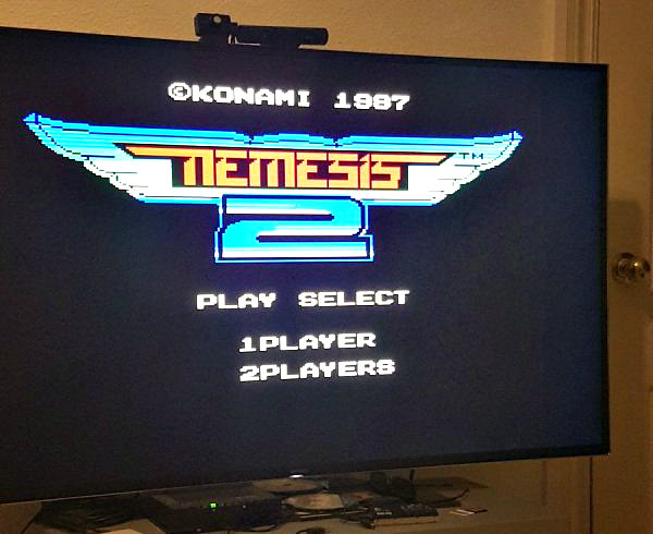 MSX Game Nemesis 2 Emulation on PS4 Preview by BigBoss.jpg