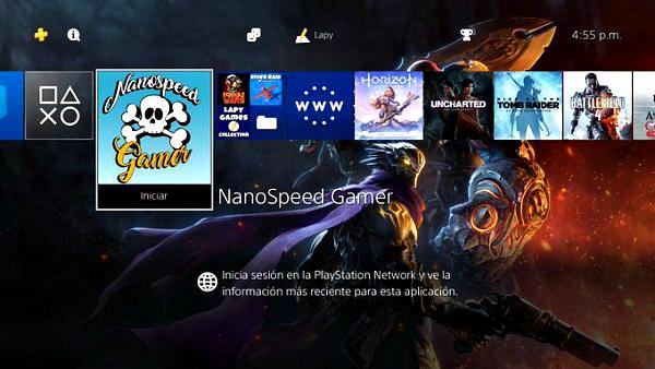 Nanospeed Gamer 1.0 The Videogame PS4 PKG by LapyGames.jpg