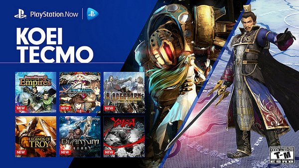 New Batch of Koei Tecmo Games Arrive on PlayStation Now.jpg