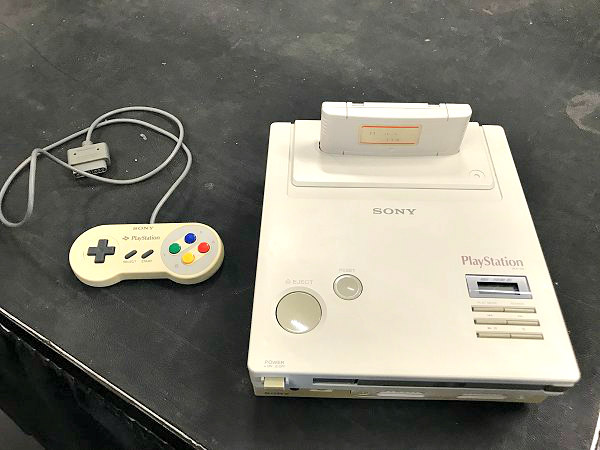 Nintendo PlayStation Prototype Fixed, Demo by Modder Ben Heck.jpg
