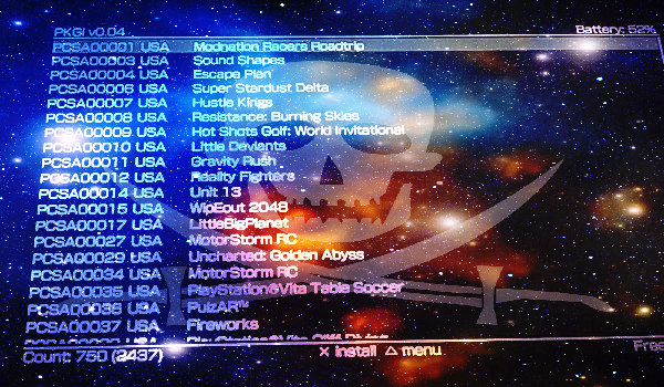 Pkgi Download Unpack Ps Vita Pkg Files Directly By Mmozeiko
