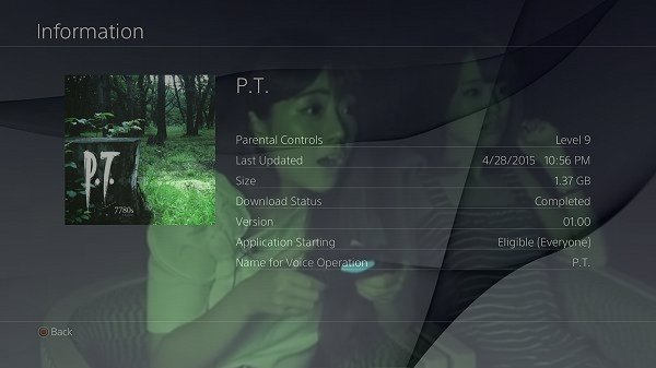 Playable Teaser (P.T.) PS4 Decrypted Files and Resources Surface.jpg