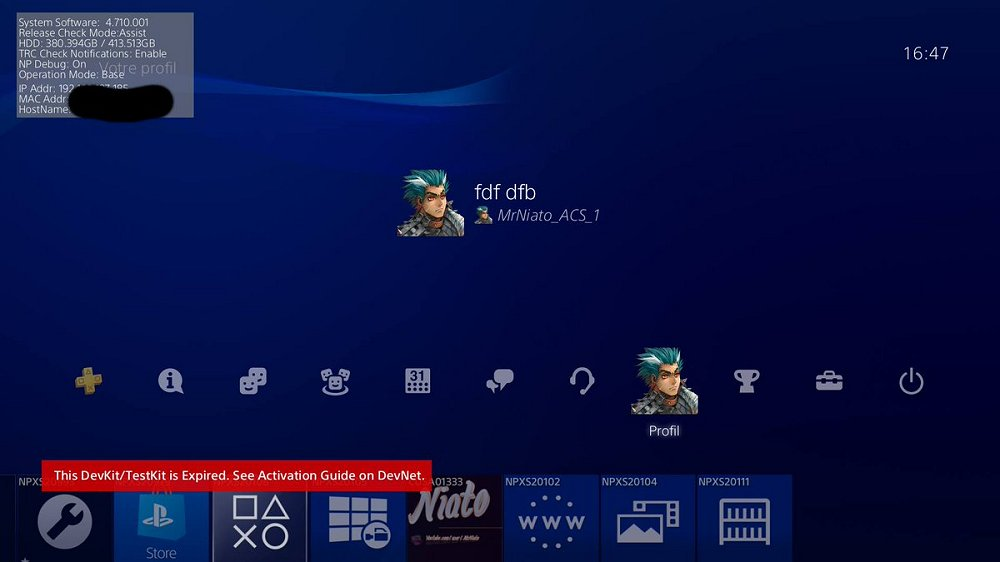PlayStation 4 DUH-T1000AA TestKit Online with 4.71 Demo by MrNiato.jpg