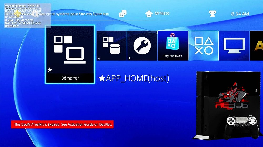 PlayStation 4 Testkit DUH-T1000AA DEX 3.50 Firmware.jpg