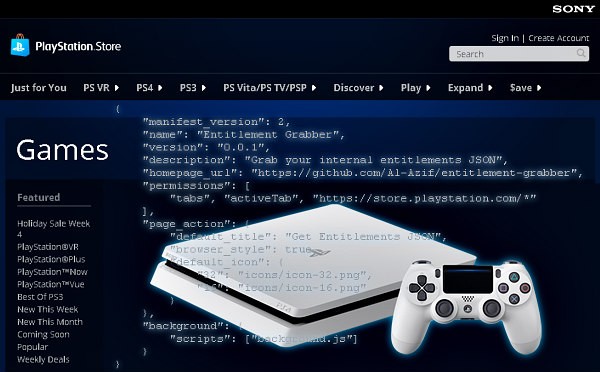 PlayStation PKG Files JSON Entitlement Grabber Add-on by Al Azif.jpg