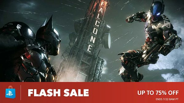 PlayStation Store Flash Sale Offers Up to 75% Off PSN Games