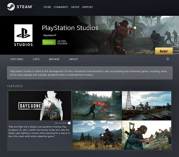 PlayStation Studios Steam Page Live Featuring PC Games and DLC Content.jpg