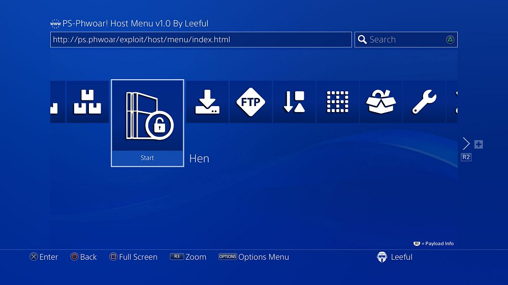 PS-Phwoar! Host Menu v1.0 by Leeful with Latest PS4 Exploit Payloads.jpg