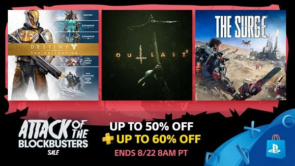 PS Store Blockbuster Sale Featuring Half Off PSN Games & Movies.jpg