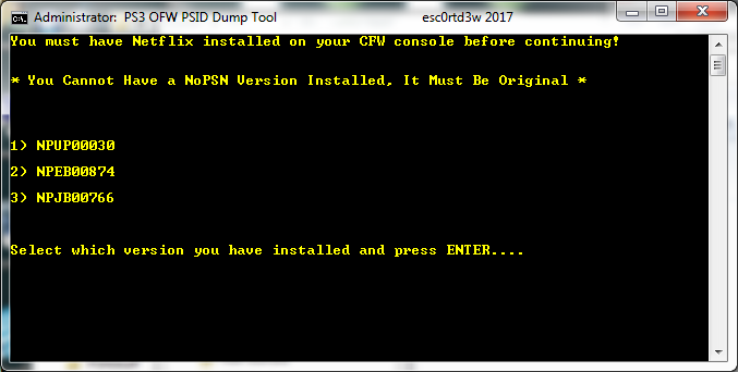 PS3 OFW PSID Dump Tool & Guide to Dump PSID via OFW by Esc0rtd3w 2.png