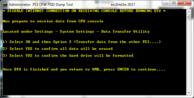 PS3 OFW PSID Dump Tool & Guide to Dump PSID via OFW by Esc0rtd3w 6.png