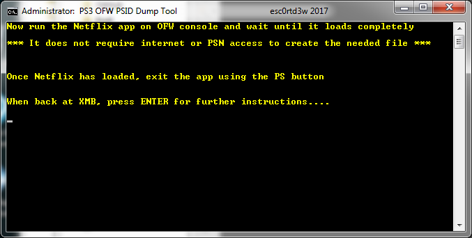 PS3 OFW PSID Dump Tool & Guide to Dump PSID via OFW by Esc0rtd3w 7.png