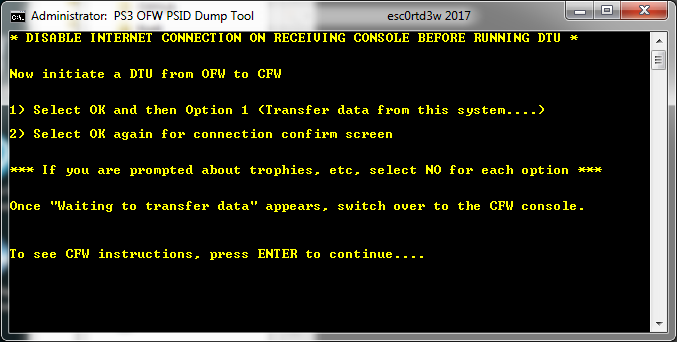 PS3 OFW PSID Dump Tool & Guide to Dump PSID via OFW by Esc0rtd3w 8.png