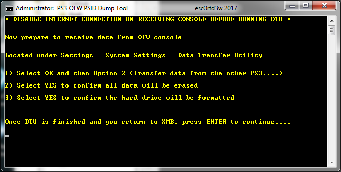 PS3 OFW PSID Dump Tool & Guide to Dump PSID via OFW by Esc0rtd3w 9.png