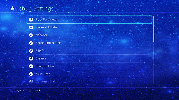 PS4 1.76 UI Mod with Full Debug Settings Demo by Extreme-Modding.jpg