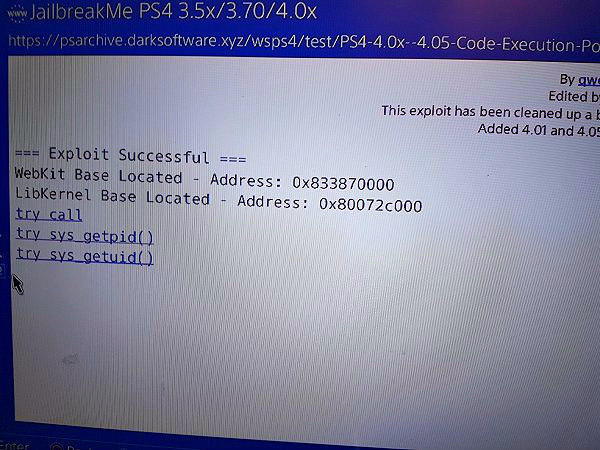 PS4 4.01 4.05 Code Execution Support PoC by AN0NY420.jpg