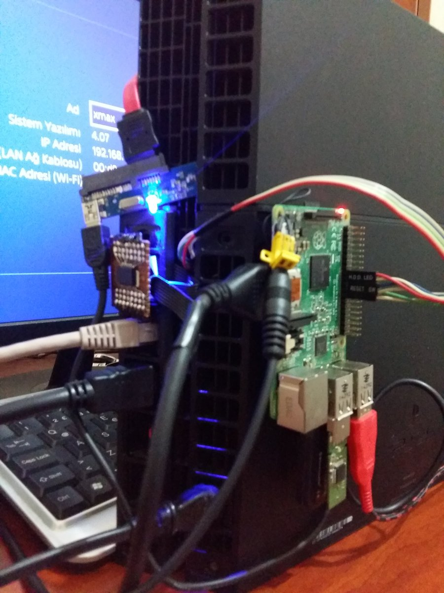 PS4 4 07 Unlimited PSN Gamesharing Hardware Method by Xmax Katsu
